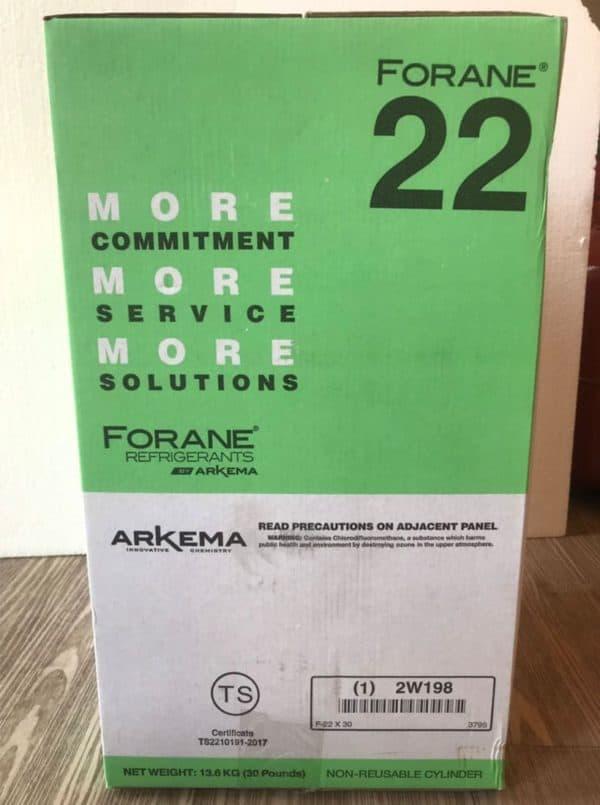 น้ำยาแอร์ FORANE รุ่น F22